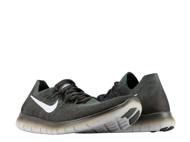 af2378359485 Nike Free RN Flyknit 2017 Vintage Green Platinum Men s Running Shoes  880843-300 Size