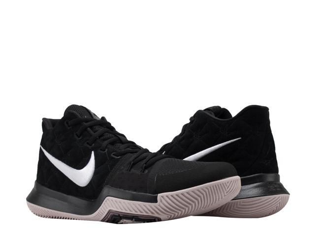 98699385789a Nike Kyrie 3 Black White-Siltstone Red Men s Basketball Shoes 852395-010  Size