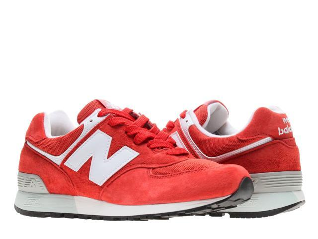 8ddf4368a15b7 New Balance 576 Ruby Red/White Men's Running Shoes US576ND4 Size 10.5D