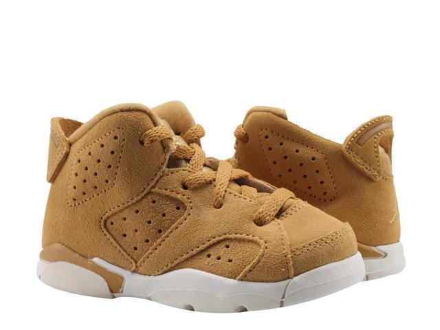 more photos aee7c 7c6f3 Nike Air Jordan 6 Retro BT Golden Harvest Wheat Toddler Kids Shoes  384667-705 Size 5