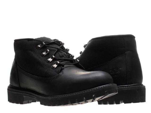 688197393eff Timberland Campsite Chukka Black Smooth Leather Men s Boots 6642A Size ...