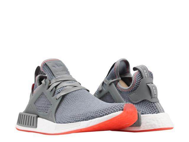 0ed35dcb3 Adidas NMD XR1 Grey Grey Solar Red Men s Running Shoes BY9925 Size 8