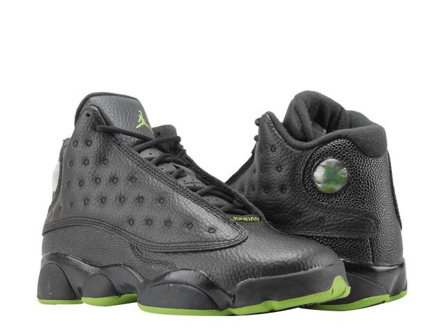 Nike Air Jordan 13 Retro BG Black Altitude Big Kids Basketball Shoes  414574-042 Size 4.5 - Newegg.com 69c410428