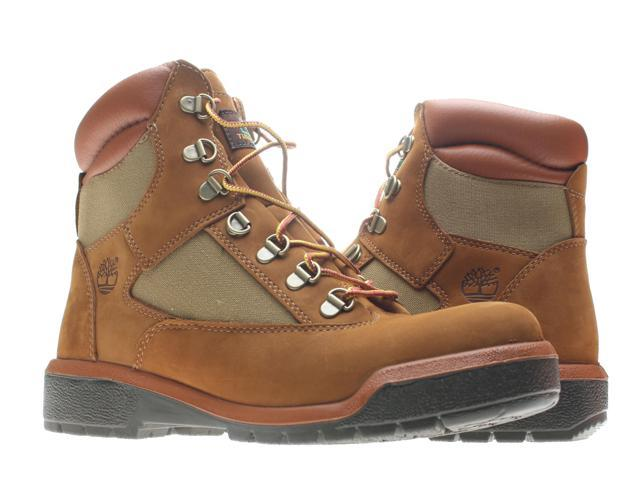 Timberland 6 Inch Waterproof Field Boot Medium Brown Nubuck Men's Boots 98519 Size 8M