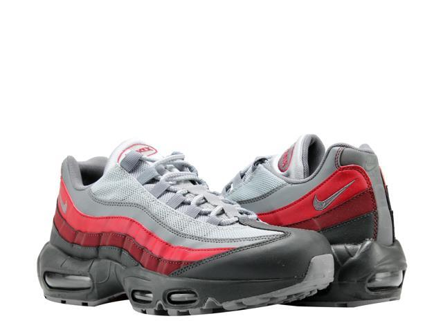 lowest price 057f7 91bf0 Nike Air Max 95 Essential Anthracite/Grey-Red Men's Running Shoes  749766-025 Size 9 - Newegg.com