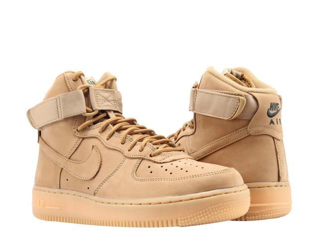 wholesale dealer 1bc49 d051d Nike Air Force 1 High  07 LV8 WB Wheat Flax Men s Basketball Shoes 882096-