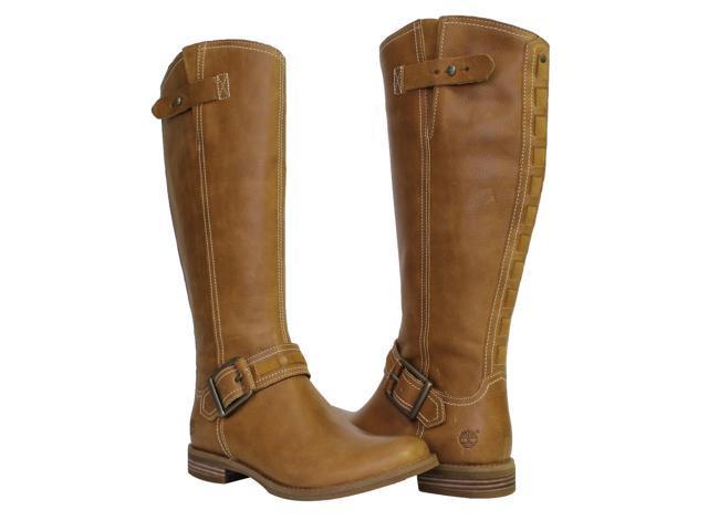Timberland EK Savin Hill Tall Wheat Woodlands Women s Riding Boots A11ZF  Size 7M fd181bfacc