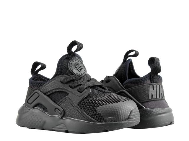 79b5d59ae830c Nike Air Huarache Run Ultra (TD) Black Toddler Kids Running Shoes  859594-004 Size 9