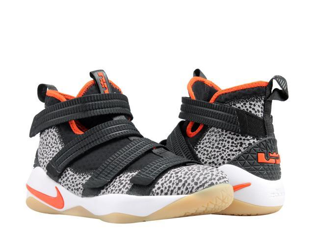 0979ea55fdd Nike Lebron Soldier XI SFG (GS) Safari Big Kids Basketball Shoes AJ5123-006