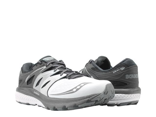 93e21e9d1c9e Saucony Zealot ISO 2 White Black Silver Men s Running Shoes S20332-1 Size