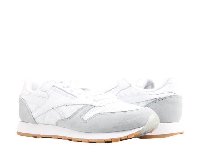 95761607672 Reebok Classic Leather SPP Perfect Split White Grey Women s Running Shoe  AR2615 Size 7