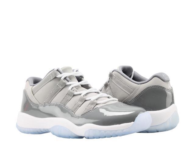 b742bfd8517 Nike Air Jordan 11 Retro Low BG Cool Grey Big Kids Basketball Shoes  528896-003