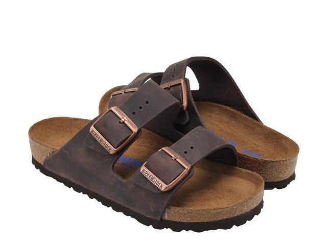 1c57d0de273a Birkenstock Arizona Soft Footbed Habana Brown Unisex Sandals  0452761-0452763 Size 40 EUR Regular