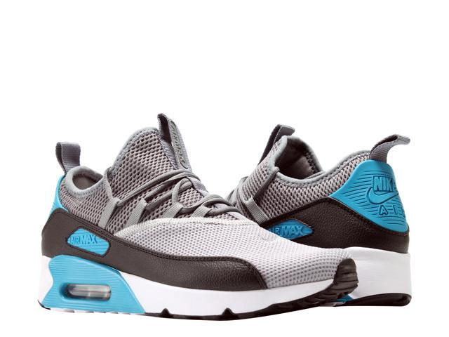 huge selection of d1ebf 8e64b Nike Air Max 90 EZ Grey/Black-Laser Blue Men's Running Shoes AO1745-004  Size 8 - Newegg.com