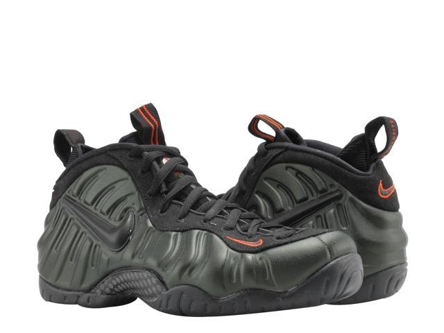 e77919574c337 Nike Air Foamposite Pro Sequoia Black-Orange Men s Basketball Shoes 624041- 304 Size