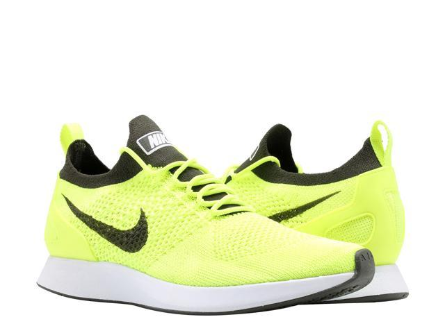 Nike Air Zoom Mariah Flyknit Racer Volt/White Men's Running Shoes 918264-700 Size 8.5