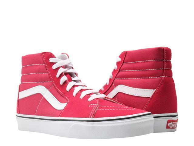 tanio na sprzedaż duża obniżka sprzedaż obuwia Vans Sk8-Hi Crimson/White Classic Hi Top Unisex Sneakers VN0A38GEQ9U Size 5