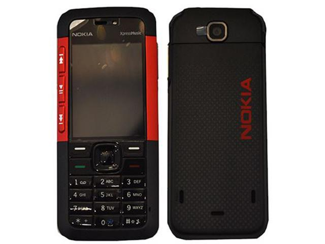 Nokia 5310 XpressMusic 30MB Factory Unlocked 2G Smartphone - Red/Black