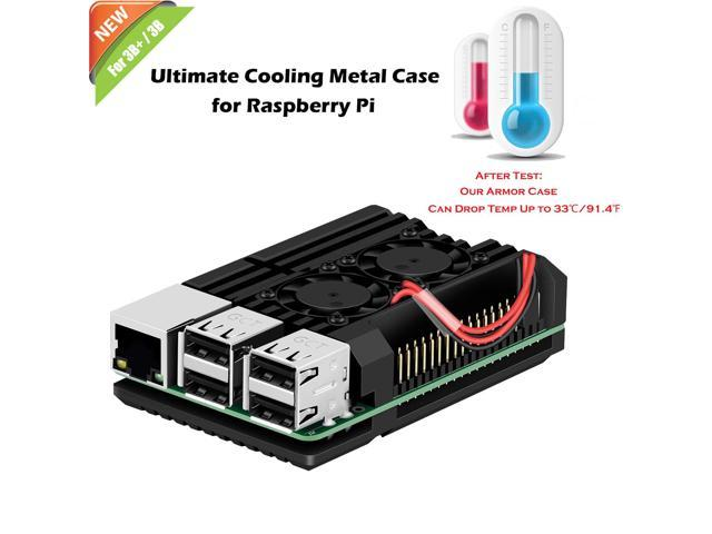 Werleo Raspberry Pi 3 Model B Case Raspberry Pi Metal Raspberry Pi