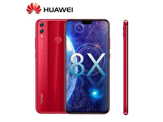 Global Firmeware Huawei Honor 8X 6GB RAM 128GB ROM Mobile Phone 6 5 inch  Screen 3750mAh Battery Android 8 1 Dual Back 20MP Camera Multiple Language