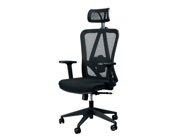 Titan ERGO TI 9606F Ergonomic Mesh Rolling Desk Chair For Office And Gaming  (Black)