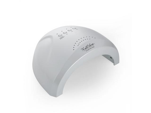 Nail Dryer,SUNone 48W - 24W Nail Dryer, LED UV Lamp Gel Nail Polish Dryer Power Adjustable White Light Fingernail & Toenail Gel Curing Nail Art Painting ...