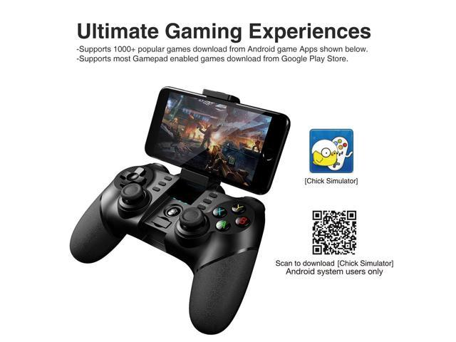 IPEGA PG-9076 3in1 Wireless Bluetooth 2 4G Game Controller Gamepad for  Android/iOS/PC/TV Box/PS3 - Black - Newegg com