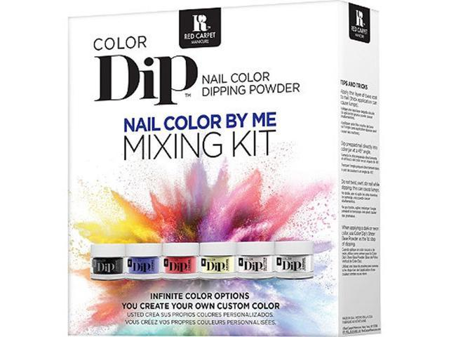 Red Carpet Manicure 20467-DIPMIXKIT Nail Polish Mixture Creation Kit