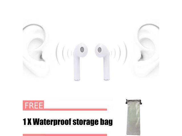 Tws I7 Mini Wireless Earbuds Bluetooth V4 2 Stereo Lightweight Headphones Built In Mic Noise Cancelling Earphones 1 Pair Newegg Com