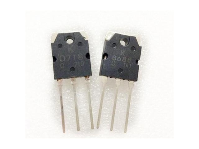 2Pair 2SB688 & 2SD718 Transistor D718 & B688 NEW - Newegg com