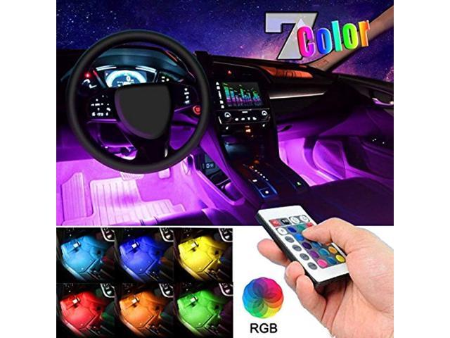 Car Led Strip Light Ej S Super 4pcs 36 Multi Color Interior