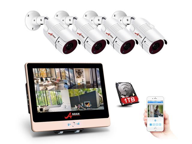 Anran 2mp 1920 X 1080p Full Poe Camera Home Security