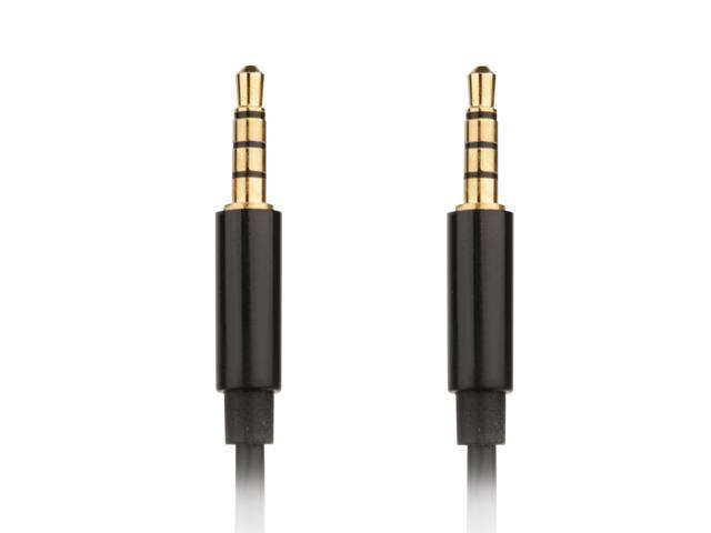 76ae5ed51d6 Replacement 3.5mm to 3.5mm 4-pole Cable for Turtle Beach Gaming Headsets -