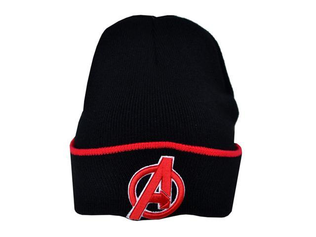 Marvel Avengers Childrens Boys Official Knitted Winter Beanie Hat ... 6aad544cb90