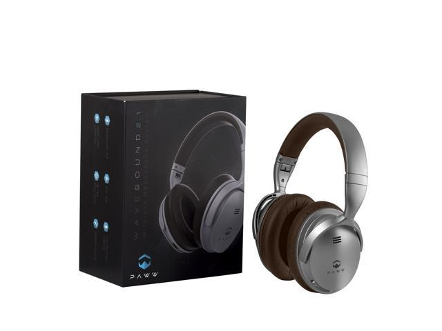 b0195638983 Paww WaveSound 2.1 Wireless Bluetooth 4.2 Over-the-Ear Foldable Headphones/ Headset with