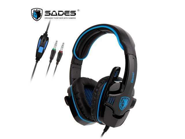 Sades official)gpower gaming headset stereo sound omnidirectional.