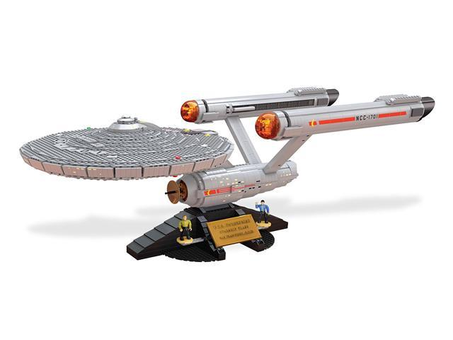Mega Bloks Star Trek Uss Enterprise Ncc 1701 3098 Pieces Newegg