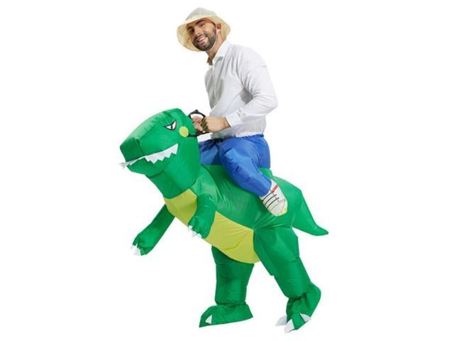 Halloween Inflatable Adult Costume Kids Party Dinosaur Unicorn Women Halloween Costume for Adult Carry Me Ride on Costume