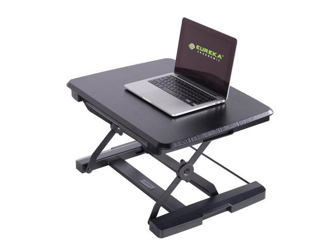 Prime Eureka Ergonomic Portable Height Adjustable Standing Desk Sit Stand Converter For Laptops Notebooks 26 Inch Embossed Black Newegg Com Home Remodeling Inspirations Propsscottssportslandcom