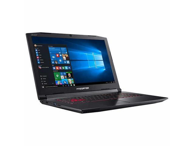"Acer Predator Helios 300 15.6"" FHD IPS Notebook, Intel Quad-Core i7-7700HQ Upto 3.8GHz, 16GB DDR4, 256GB SSD Plus 1TB HDD, NVIDIA GeForce GTX 1060 6GB, Backlit Keyboard, Windows 10 Home 64Bit"