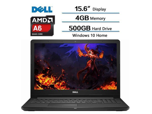 2018 Newest Dell Flagship Inspiron 156 HD Widescreen LED Laptop AMD A6 9200 Processor