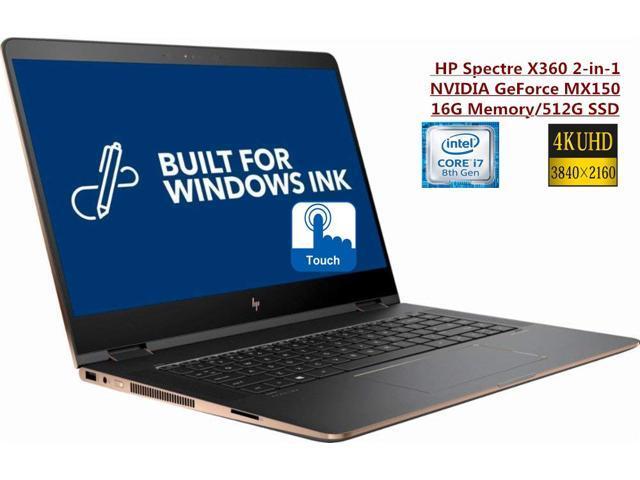 680988908fc NEW 2018 HP Spectre x360 2-in-1 15.6