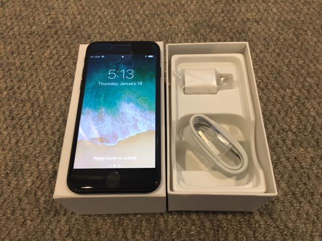 Refurbished: Apple iPhone 7 - 128GB - Jet Black A1660 (MN8Q2LL/A),  Includes: New Apple charge cube and oem cable  - Newegg com