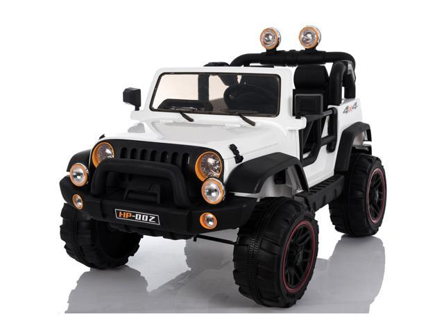Off Road 2 Seater 12V Kids Ride On Car Battery Powered Electric With Remote Control