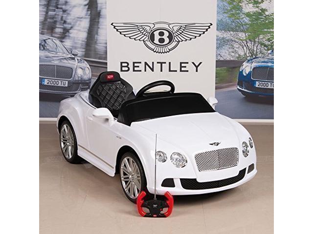 Electric Ride On Car Bentley GTC 12V Battery For Kids Power Motor Wheels Rc  MP3 LED White - Newegg com