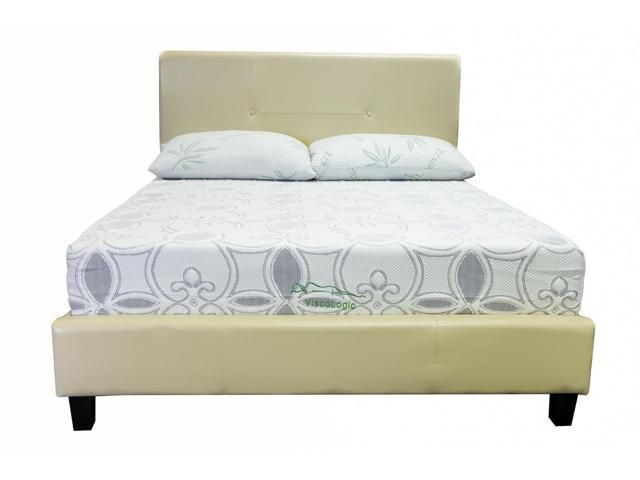 Viscologic Twilight 10 Inch Memory Foam Mattress Queen