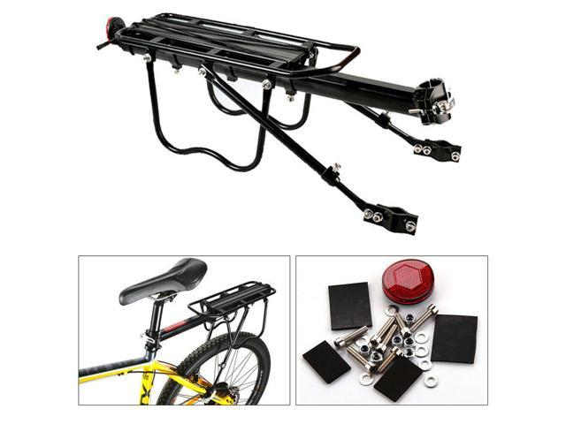 Outdoor Back Rear Bag Pannier Rack Bike Bicycle Seat Post Frame Carrier Holder