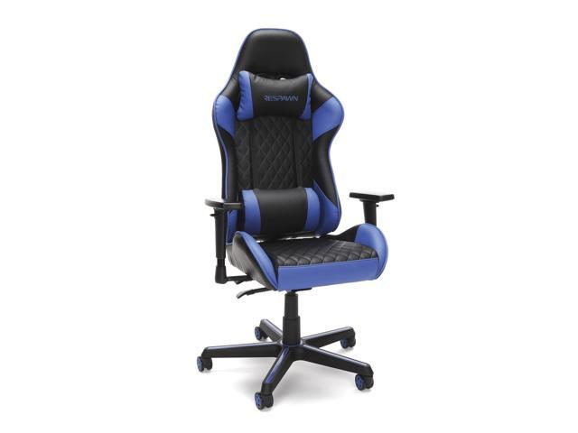 RESPAWN 100 Racing Style Gaming Chair, in Blue (RSP-100-BLU) - Sale: $162.89 USD (26% off)