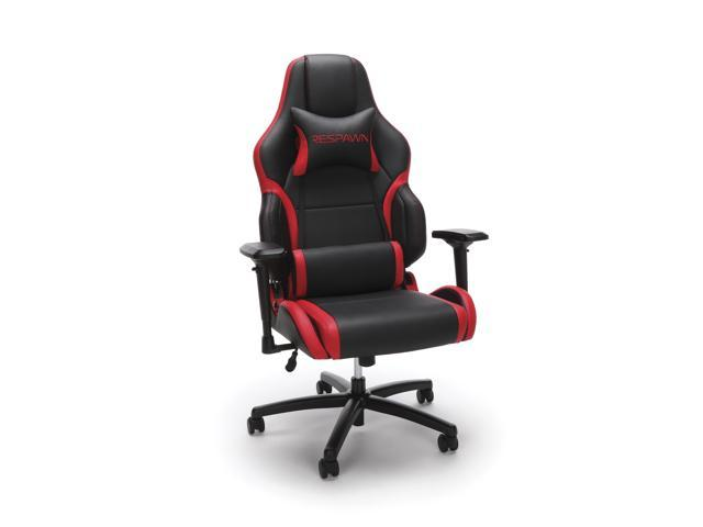 respawn 400 racing style gaming chair big and tall leather chair office or gaming chair red. Black Bedroom Furniture Sets. Home Design Ideas