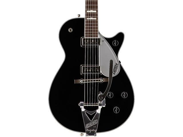 5a61fe5529 Gretsch Guitars G6128T George Harrison Duo Jet Electric Guitar Black ...
